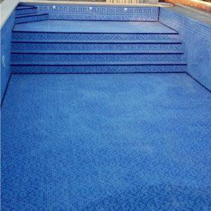 Piscine bleue 33,3x33,3